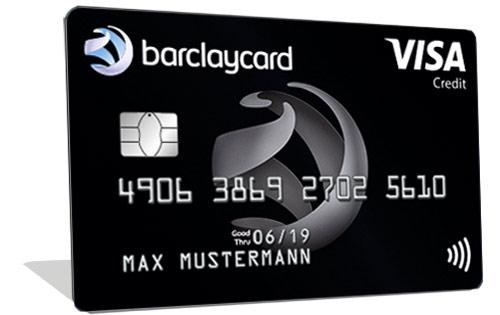 Barclaycard Visa - Kostenlose Kreditkarte