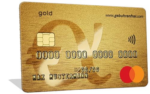 Gebührenfrei Mastercard Gold - Kostenlose Kreditkarte