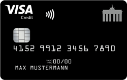 Deutschland-Kreditkarte - Kostenlose Kreditkarte